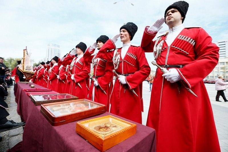 Календарь: казаки в Краснодаре отметили 28-ю годовщину реабилитации