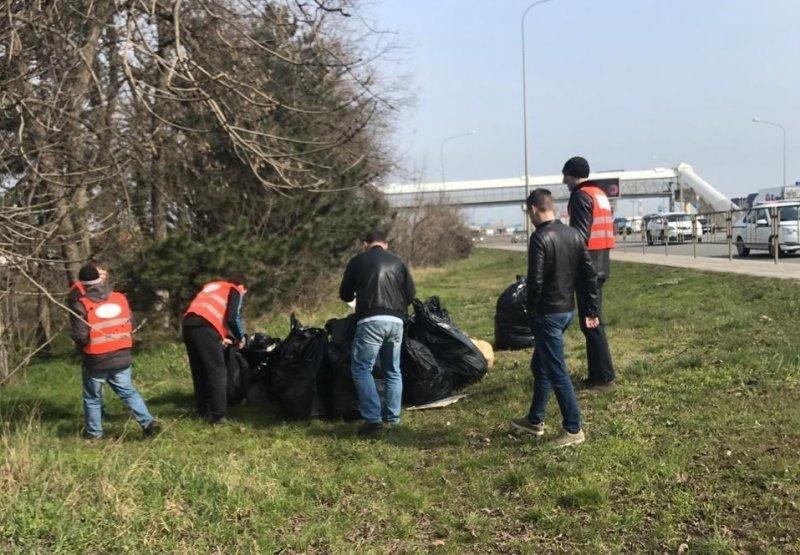 Кусочек Ростовского шоссе убрали в Краснодаре
