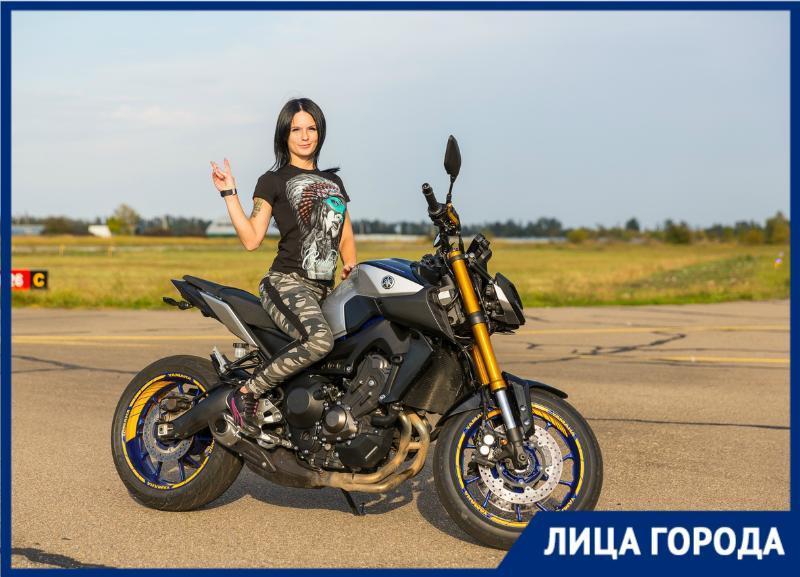 Как маленькая и хрупкая красотка стала организатором моточетвергов в Краснодаре