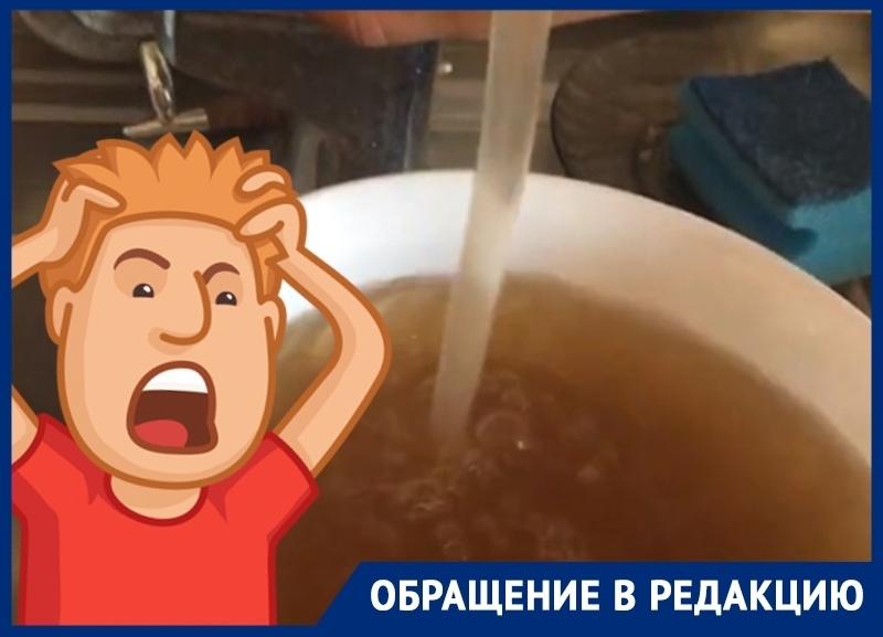 «Этот кошмар нескончаем», - краснодарцы рассказали о качестве воды в их доме