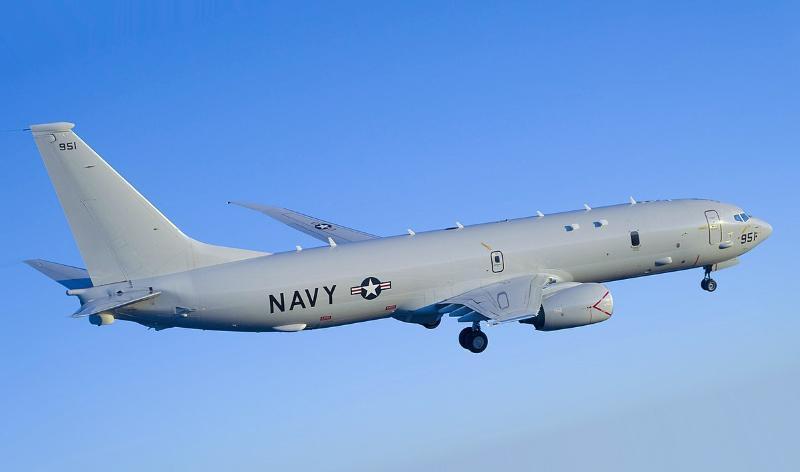 Самолет-разведчик США был замечен у границ Краснодарского края