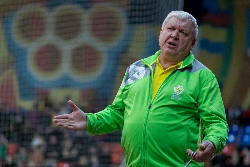 Тренер ГК «Кубань» Трефилов вернется к работе через 2 недели, его выписали