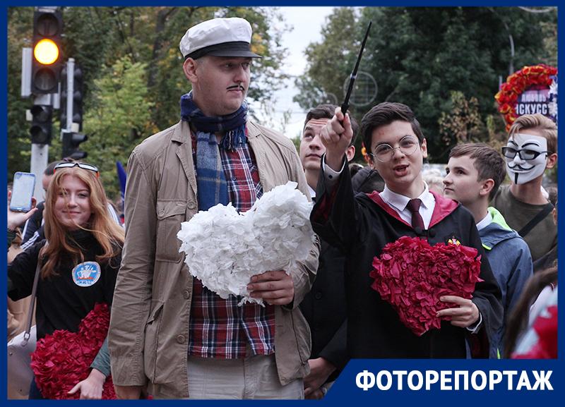 В День города в Краснодаре состоялось яркое Молодежное шествие