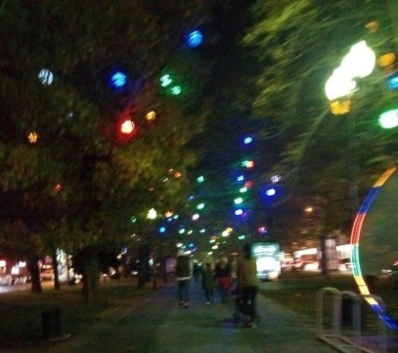 В Краснодаре выключат декоративную подсветку улицы Красной
