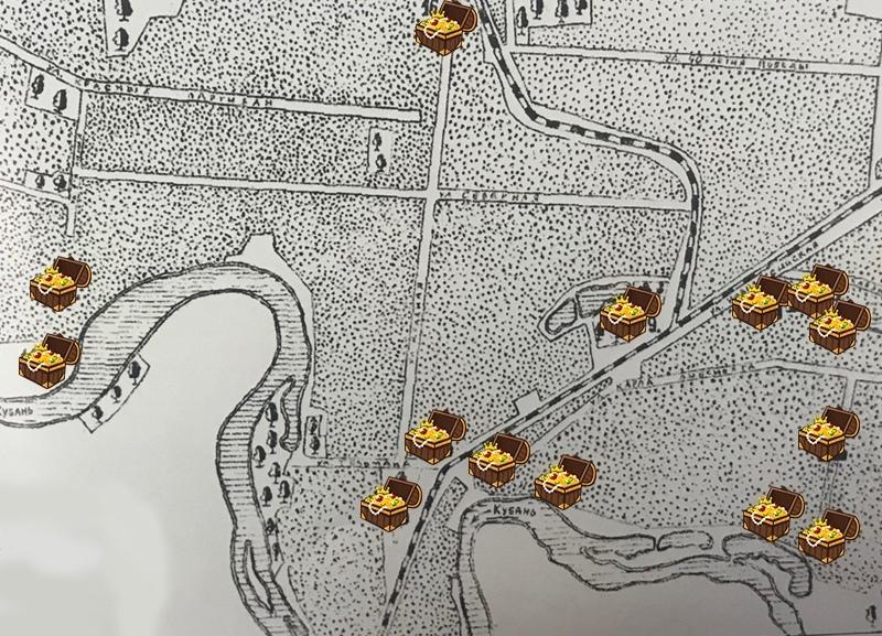 Как выглядит карта памятников архитектуры эпохи бронзы в Краснодаре