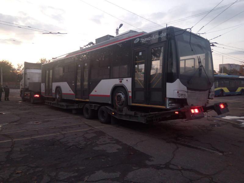 Пятый по счету электробус доставили в Краснодар