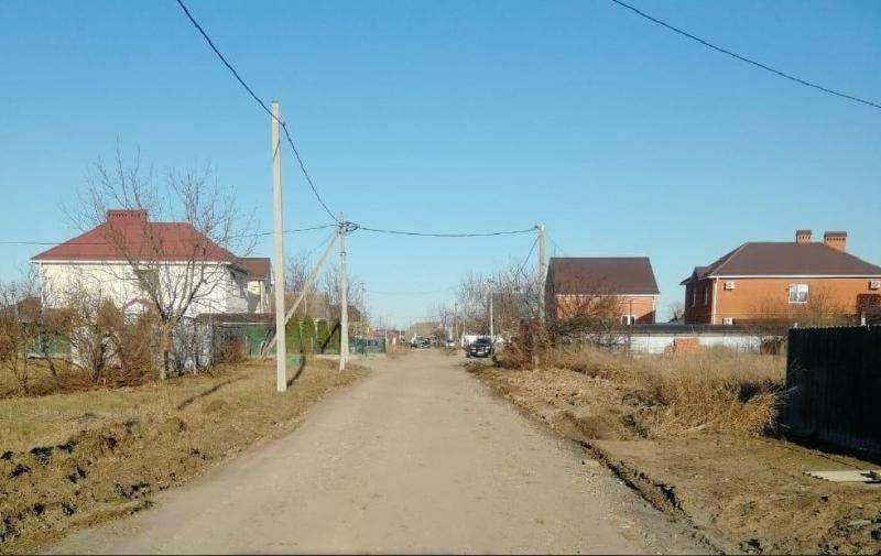 Гравийные дороги отремонтировали в Краснодаре