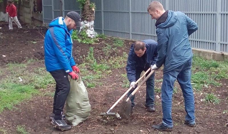 «ГУК-Краснодар» поддержала челлендж и убрали мусор с улиц города