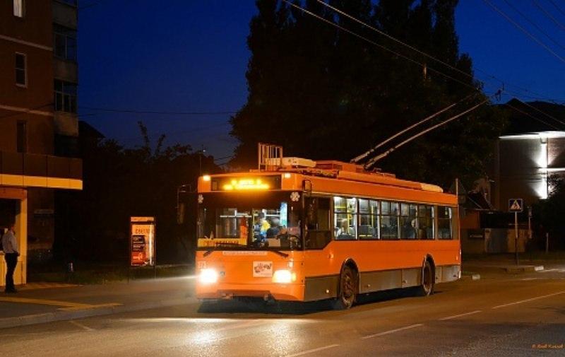 Троллейбус №2 в Краснодаре изменит свой маршрут