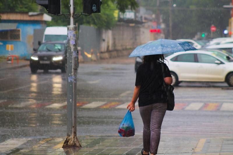 Краснодарцы поплыли, Московскую перекрыли, упавшие деревья: итоги дождливого дня в столице Кубани