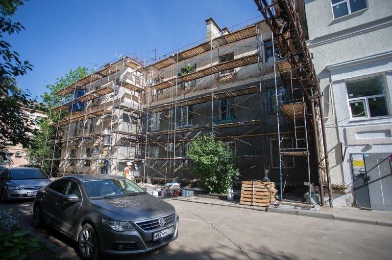 Фасады 45-ти домов отремонтируют в Краснодаре