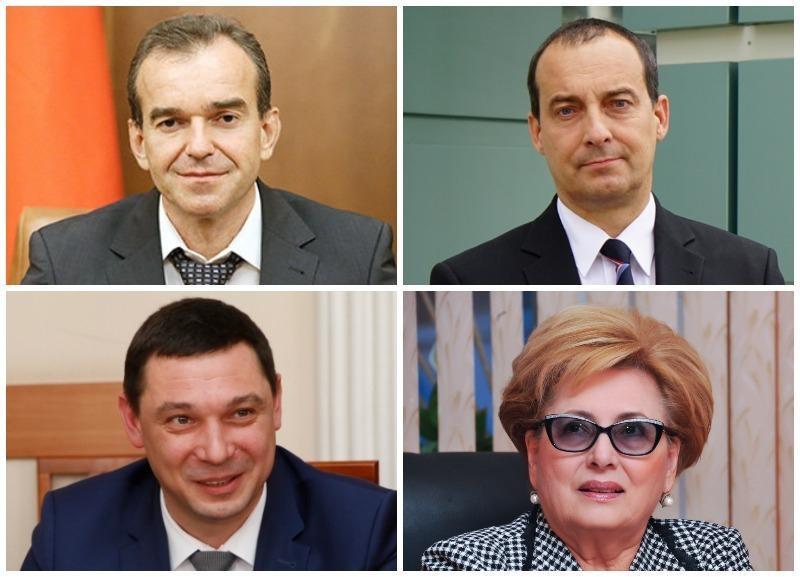Первые лица Кубани сменили позиции в медиарейтинге