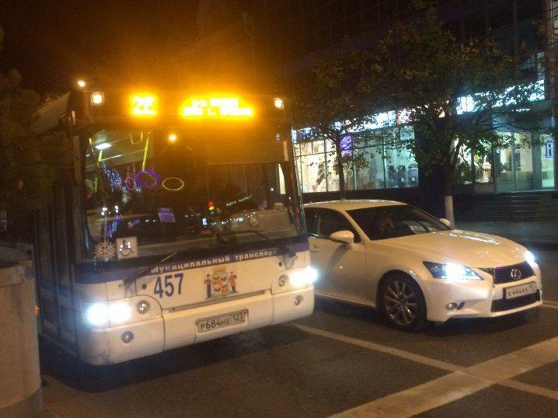 Выделенные полосы для общественного транспорта появятся в Краснодаре
