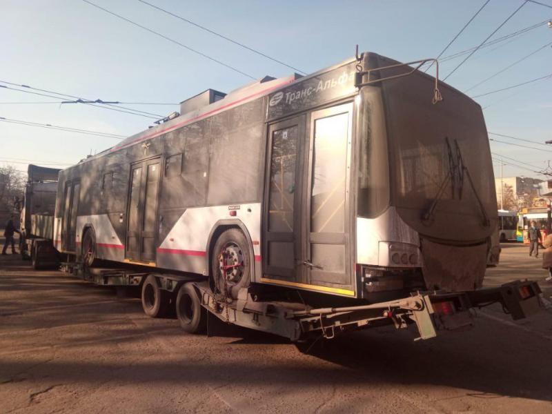 Стало известно, когда по городу начнут ездить новые электробусы