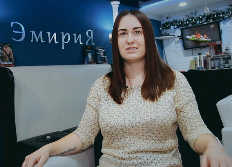 Шикарные волосы и красивые ресницы получила участница «Преображения» Ольга Гаврилова
