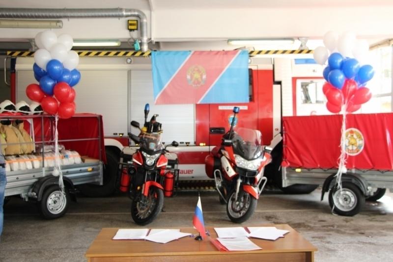 Добровольных пожарных в Краснодарском крае приодели