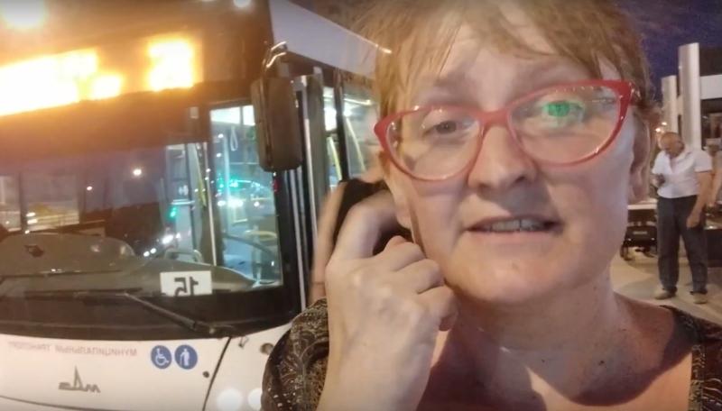 В адрес краснодарской активистки, выступающей за сохранение троллейбусов, полетели угрозы
