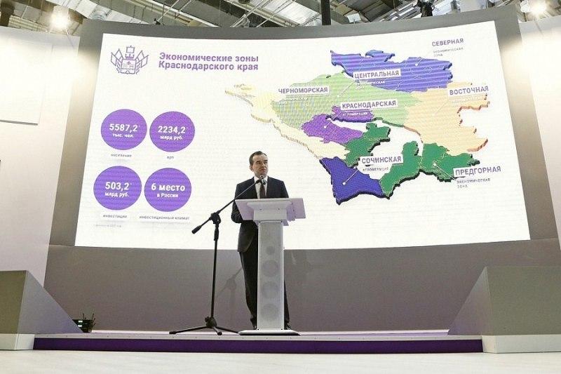 Кубань на инвестфоруме в Сочи заключила соглашений на 298 млрд рублей
