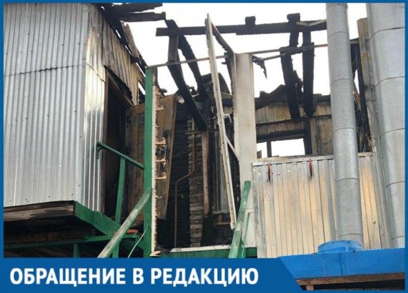 «Сгорело все, успели спасти собаку», - пожар уничтожил многоквартирный дом в Краснодаре