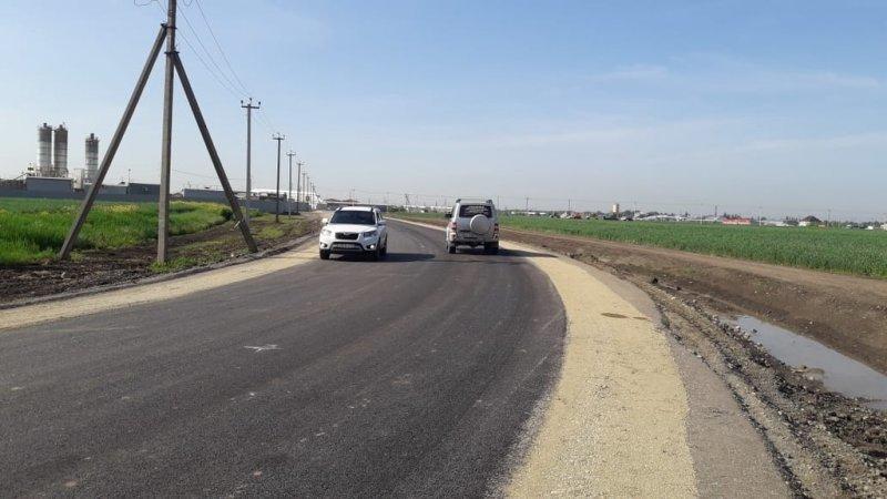 Трассу от поселка Индустриального до М-4 «Дон» в Краснодаре открыли