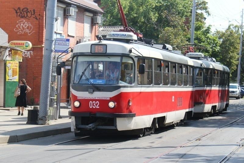 В Краснодаре изменится схема движения пяти трамваев