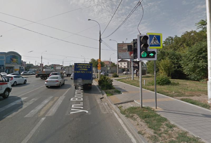 На пересечении Восточно-Кругликовской и Школьной в Краснодаре выключили светофор