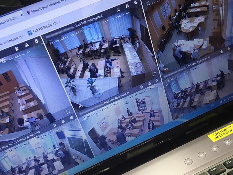 Система видеонаблюдения «Ростелекома» готова к проведению основного периода ЕГЭ-2019