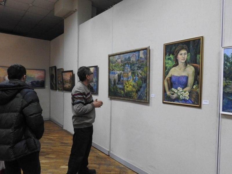 Выставка Валентины Поляковой «Под небом голубым» открылась в Краснодаре