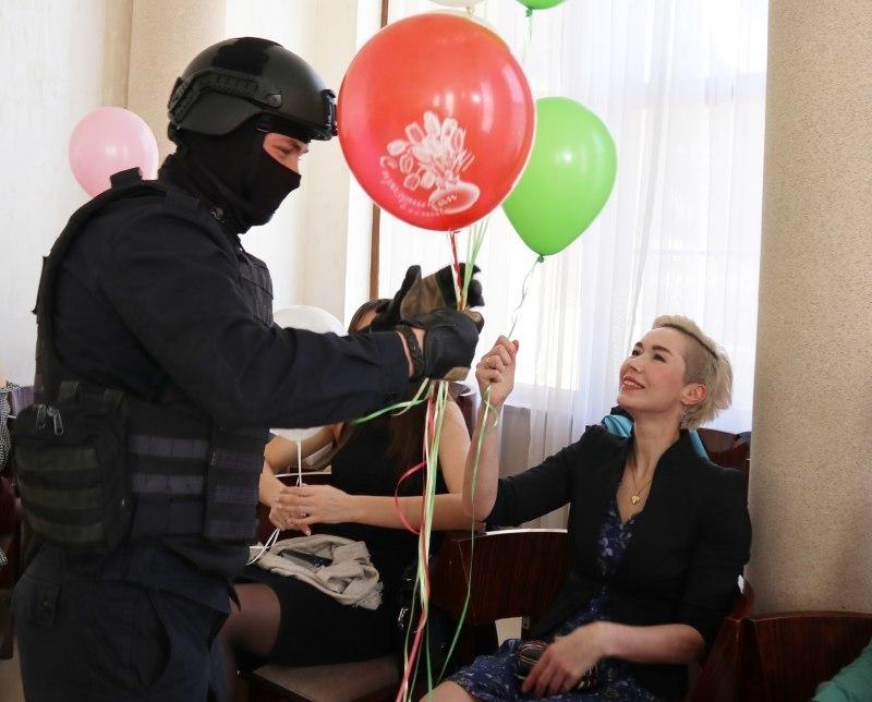 ОМОН нагрянул к девушкам из краснодарского волейбольного клуба «Динамо»