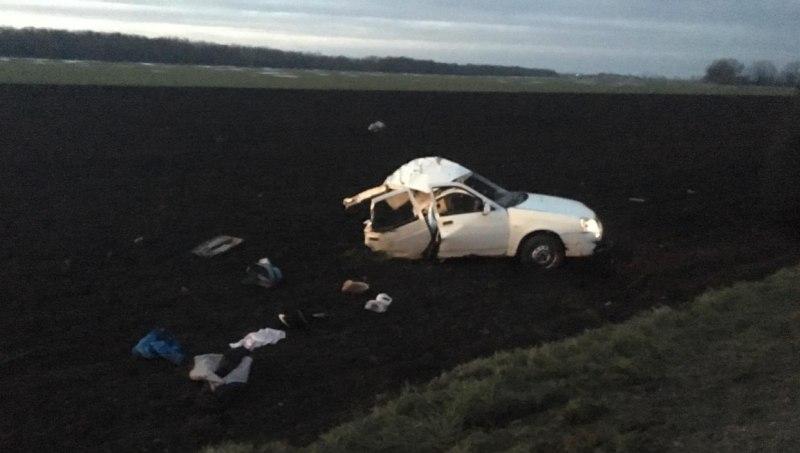 В ДТП с грузовиком на Кубани погиб мужчина и двое детей