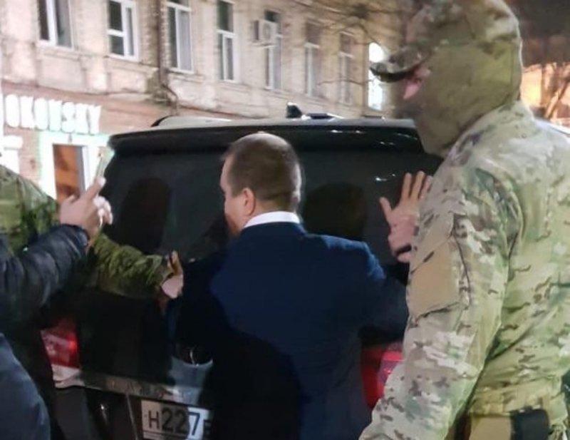 СМИ сообщили о задержании за взятку главы Динского района Пономарева