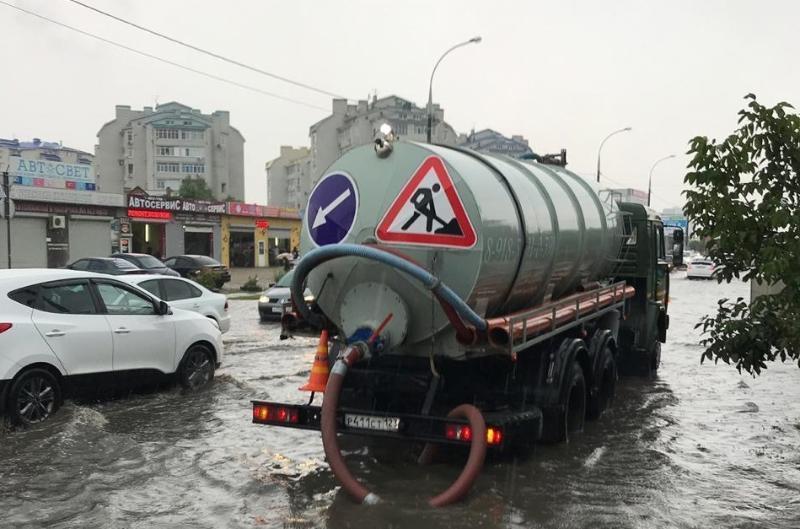 Более 70 заявок подали краснодарцы в связи с подтоплениями из-за дождей