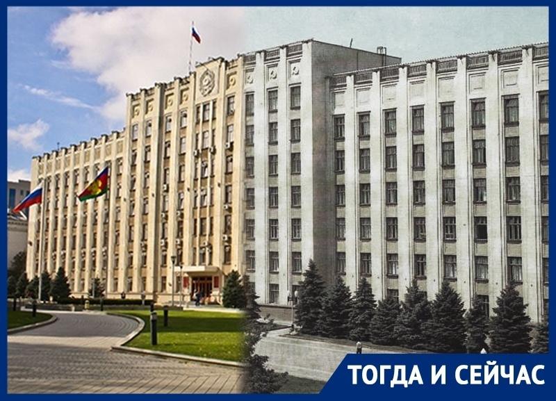 Какую роль сыграл Хрущев в строительстве здания администрации Краснодарского края