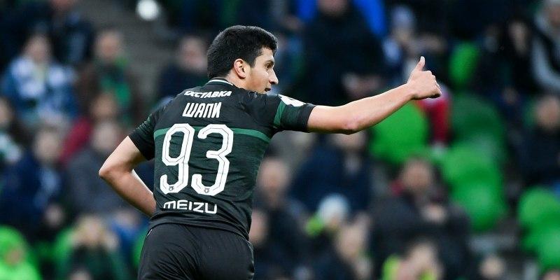 Магомеда Сулейманова выбрали лучшим игроком «Краснодара» в марте