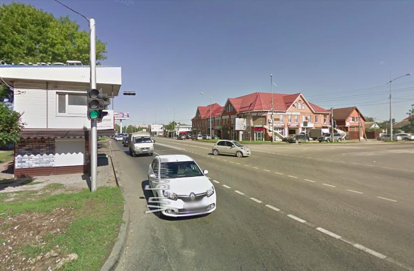 Перекресток в Карасунском округе Краснодара изменили