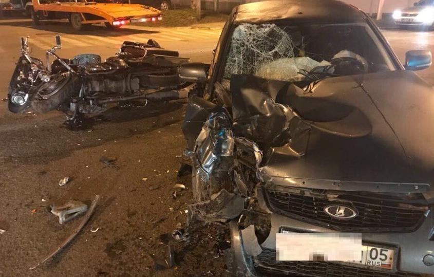 «Сальто сделал - жесть»: байкер чудом выжил после серьезной аварии в Краснодаре