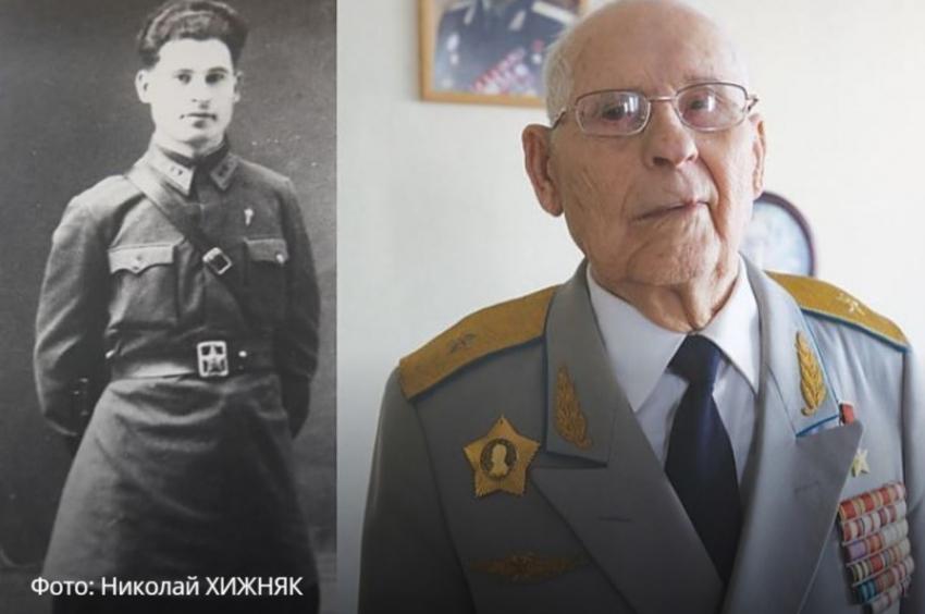 На101-м году жизни скончался боевой летчик Николай Жуган