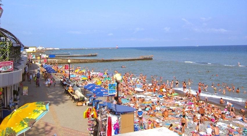 000 млн туристов отдохнули накурортах Краснодарского края заполтора летних месяца