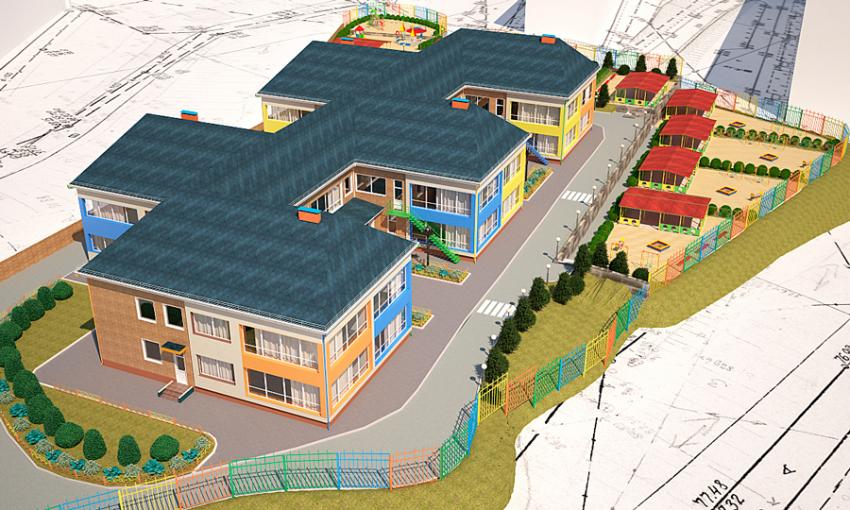 Впоселке Березовом Краснодара построят детский парк имногоуровневый паркинг