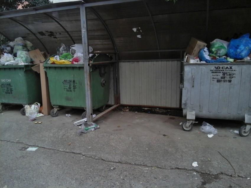 Сочинцы через соцсети просят вывезти застоявшийся мусор