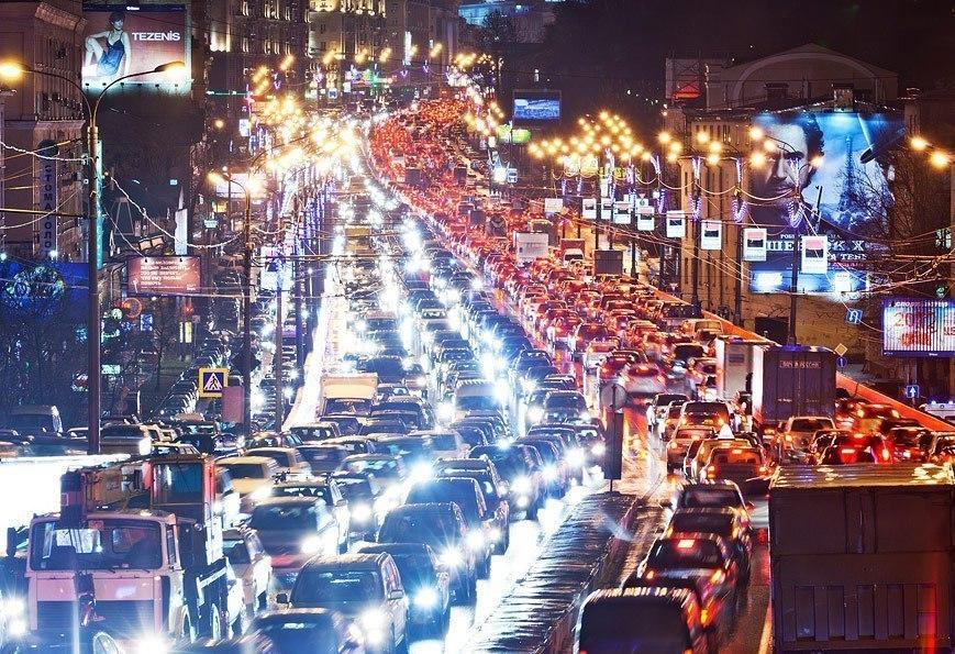 Краснодар попал в ТОП-25 городов мира с самыми ужасными пробками