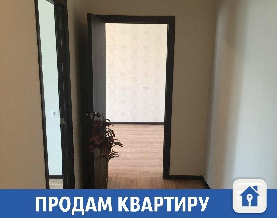 Квартира с ремонтом продается в новостройке Краснодара