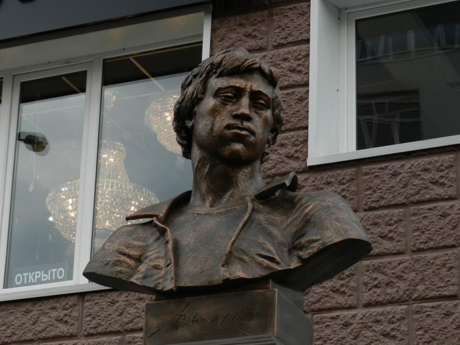 В Краснодаре  отметили 77-летие Владимира Высоцкого