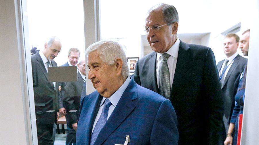 Главы МИД России и Сирии встретятся в Сочи