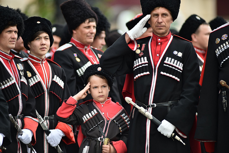 Казаки проведут парад в центре Краснодара
