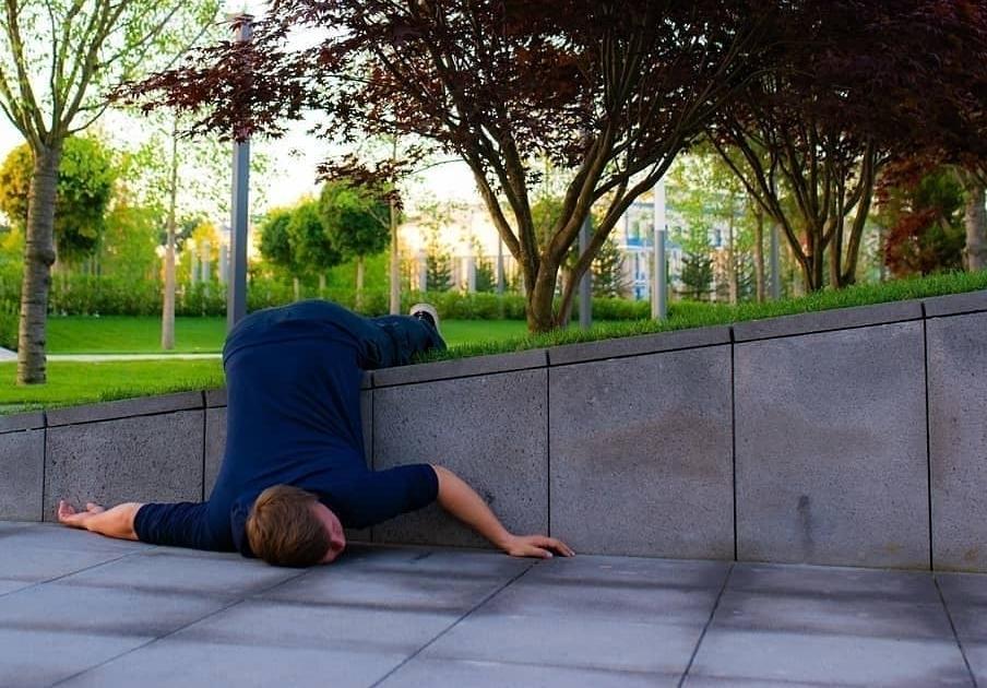 Краснодарцы оценили «пьяные» снимки в парке Галицкого