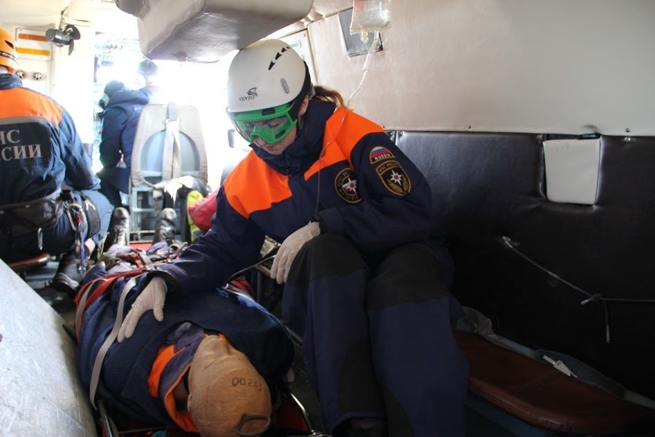 «Кемеровский инцидент» отработали на учениях в «Фишт» сочинские спасатели