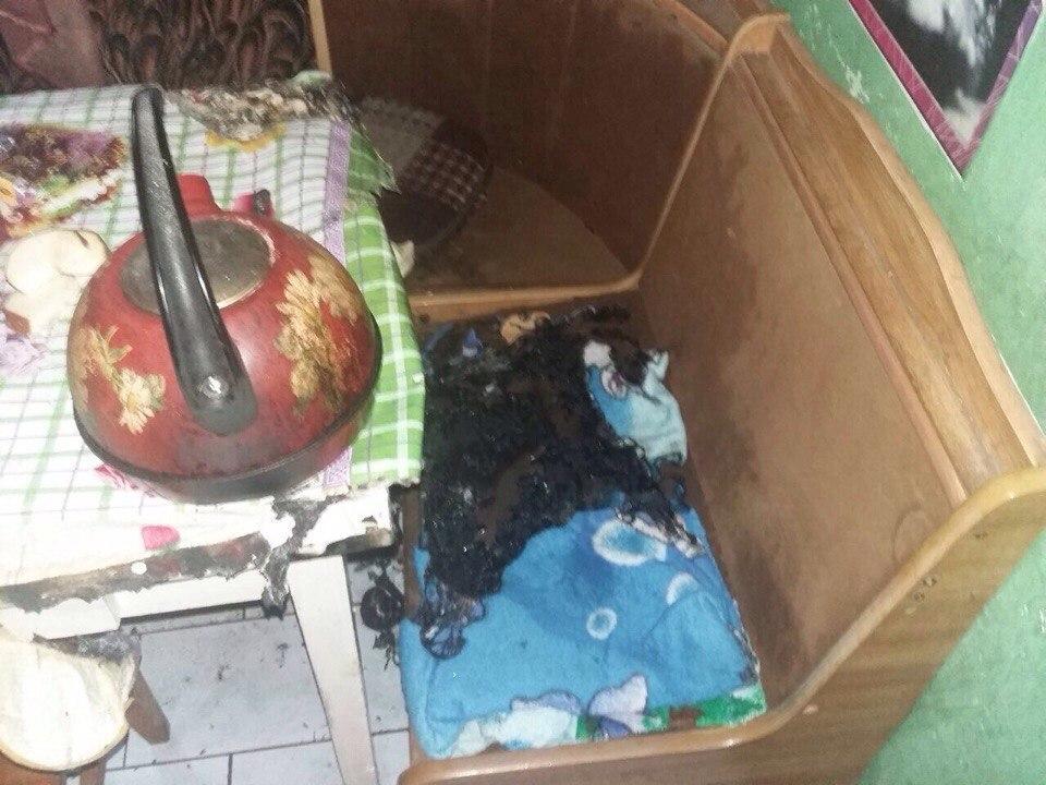 В Новороссийске при пожаре погибла женщина