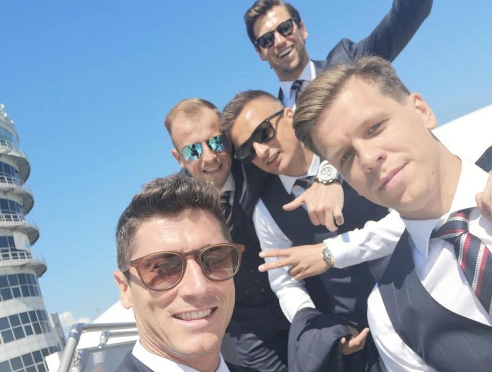 «Очень интеллигентные» футболисты сборной Польши прибыли в Сочи