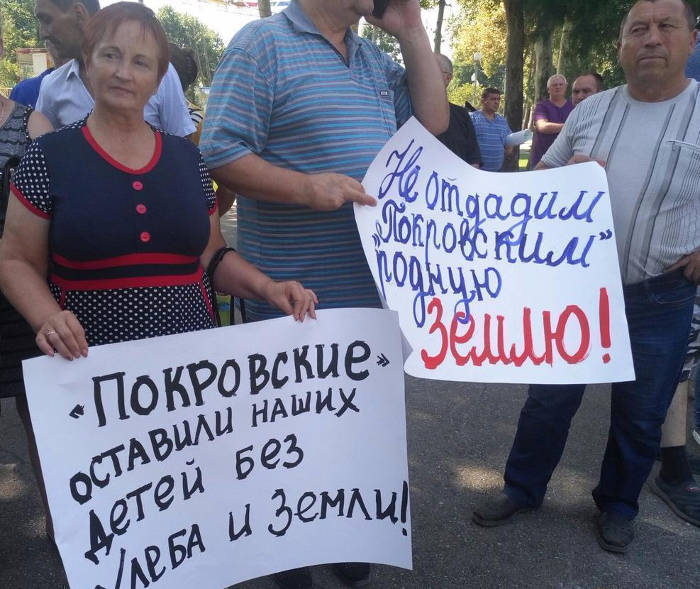 «Спасите нас от концерна «Покровский»: Кубанские фермеры вышли на пикет, не обошлось без провокаций